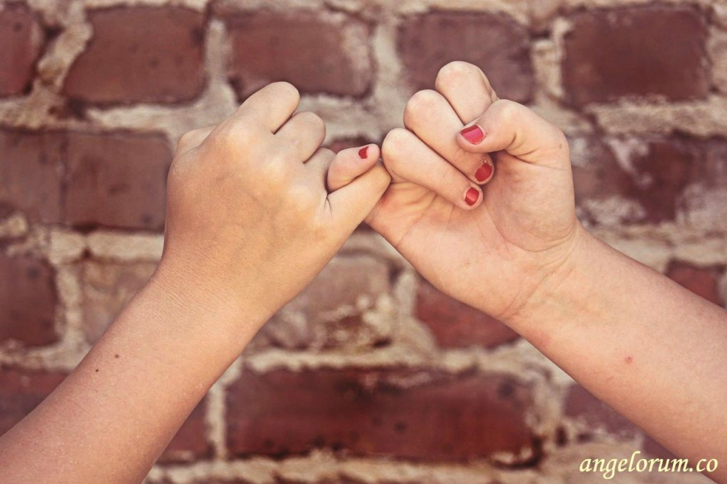 pinky swear forever friends