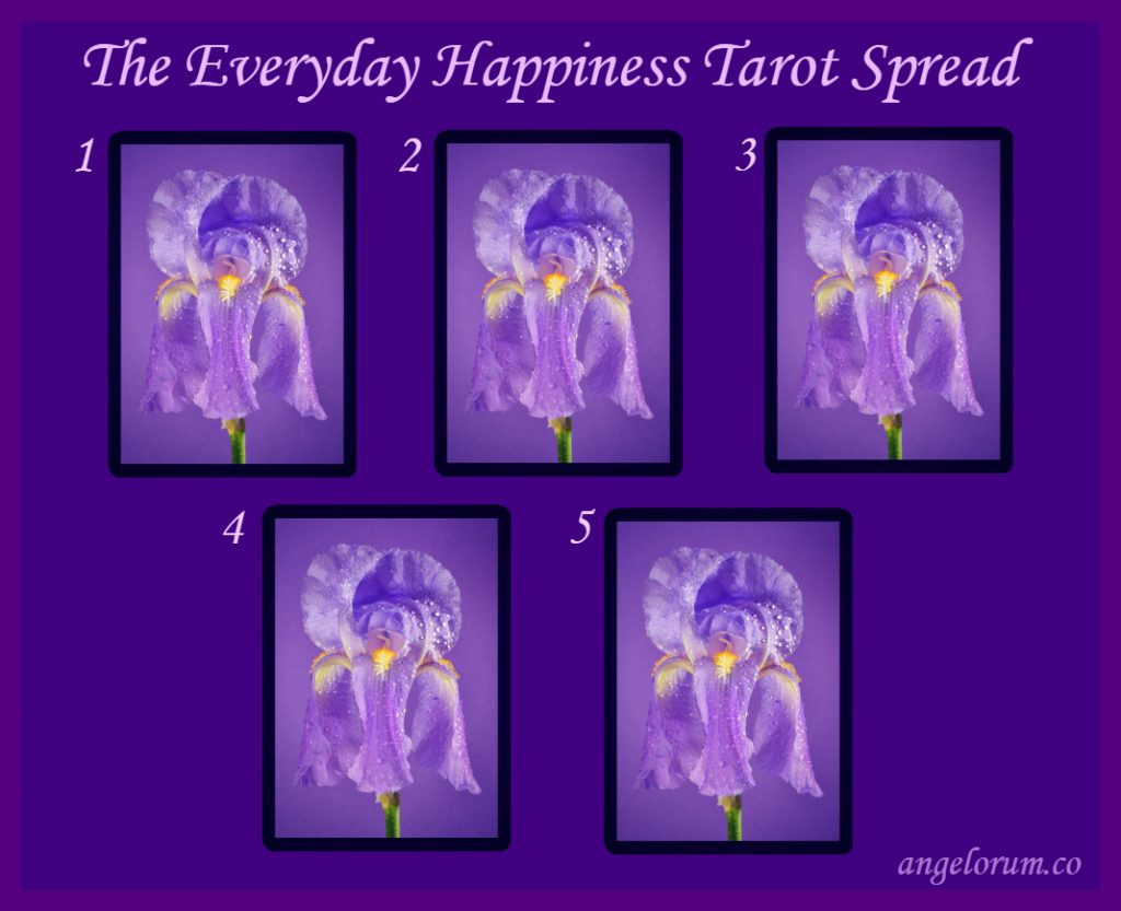 The Everyday Happiness Tarot Spread
