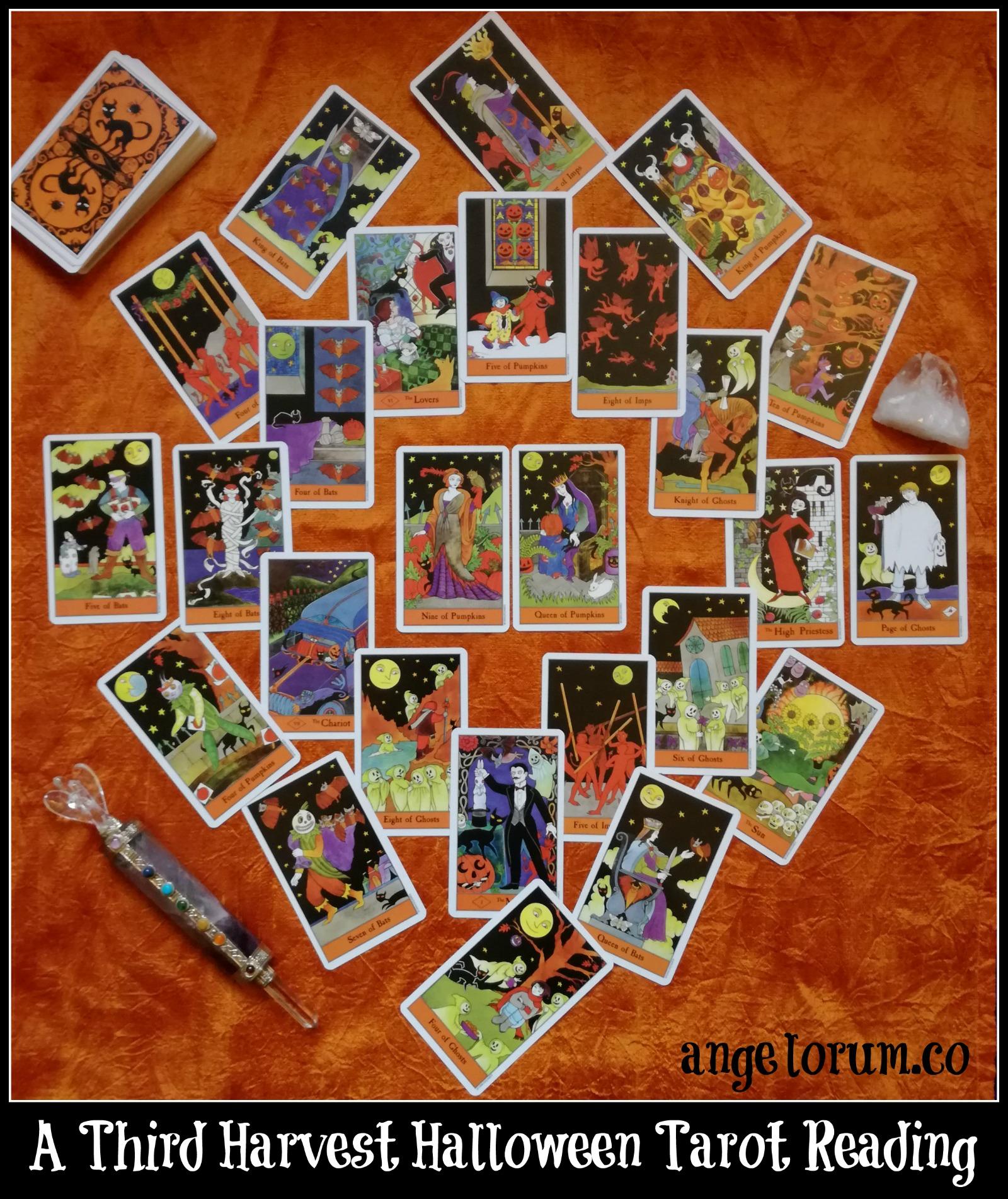 A Third Harvest Halloween Tarot Reading