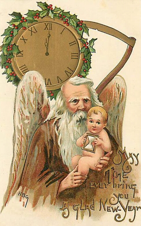 father-time-and-the-new-year