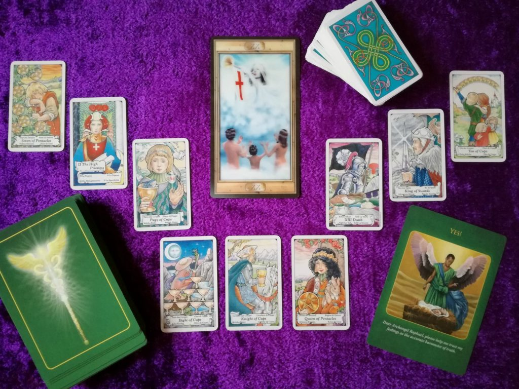 tarot reading about which healing modality to focus on