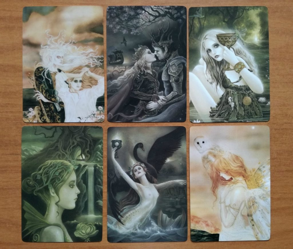 faerie enchantments sample card images 2