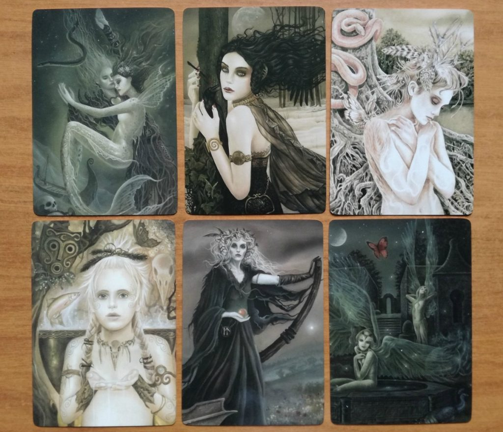 faerie enchantments sample card images 3