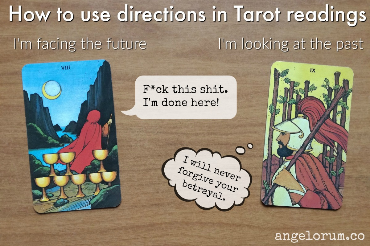 How to use directions in Tarot readings