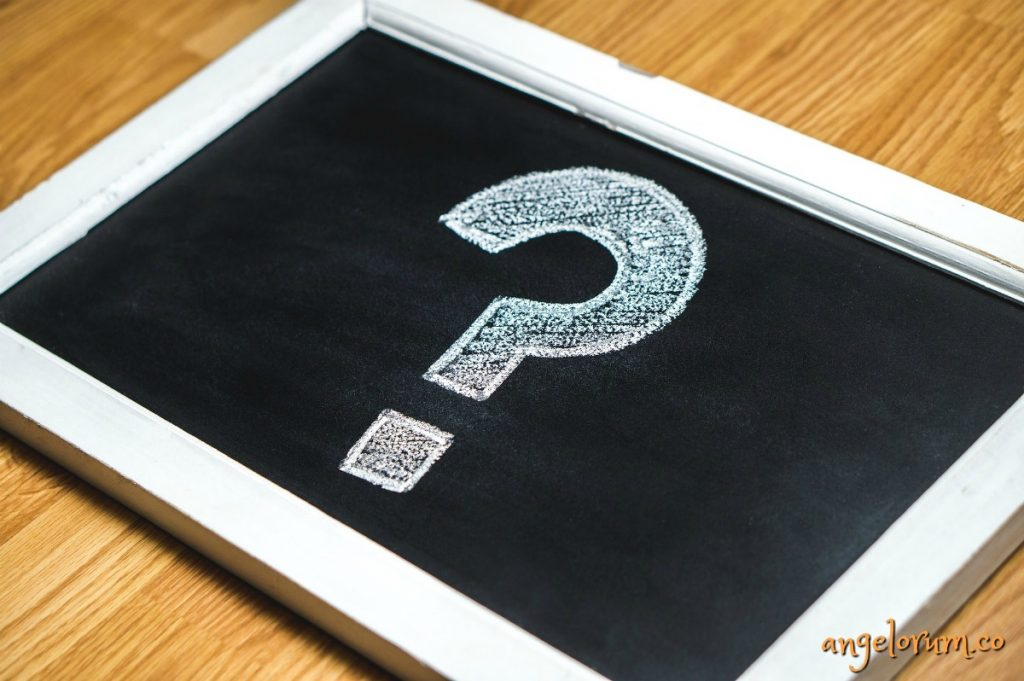 question mark questions for tarot readers angelorum