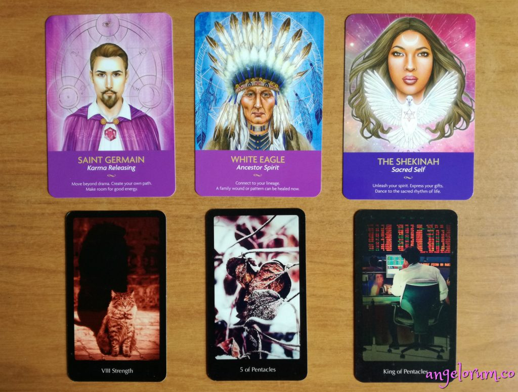 reveal for the free week ahead tarot reading