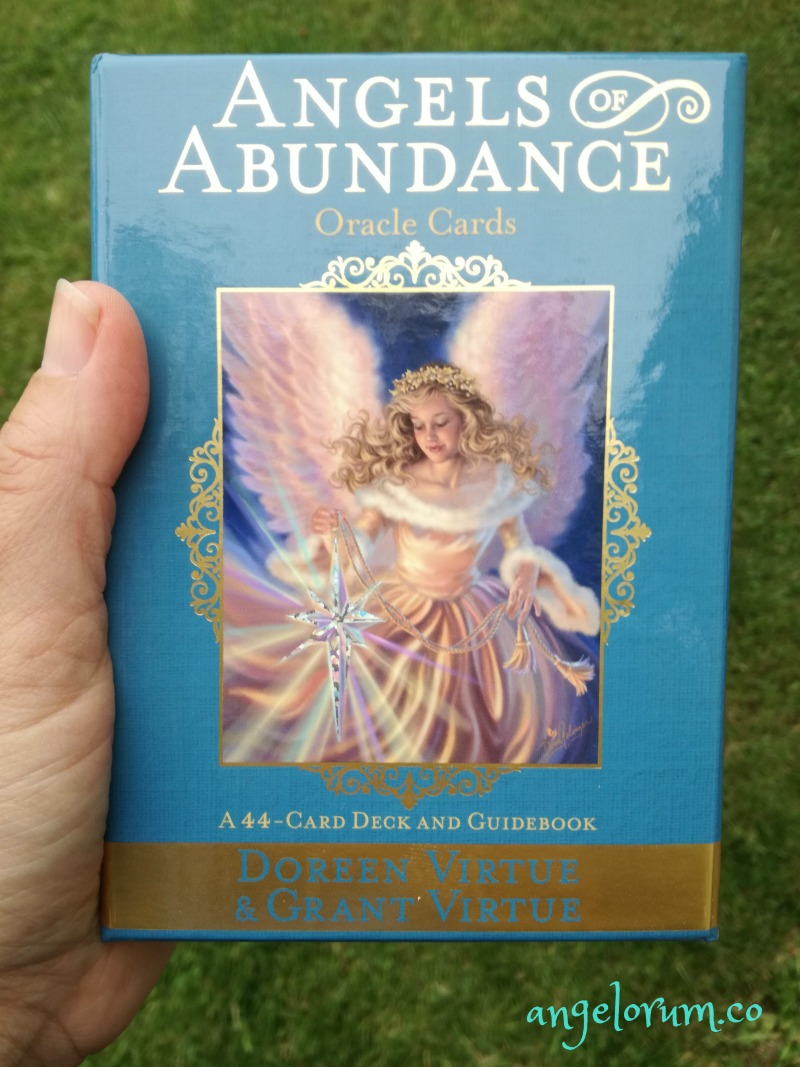 Angels of Abundance Oracle Cards Doreen Grant Virtue