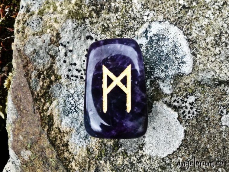 Mannaz rune for Elder wand runes