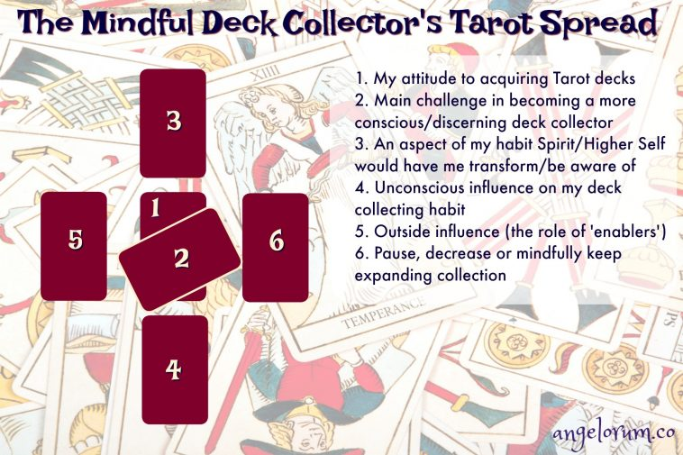 The Mindful Deck Collector's Tarot Spread