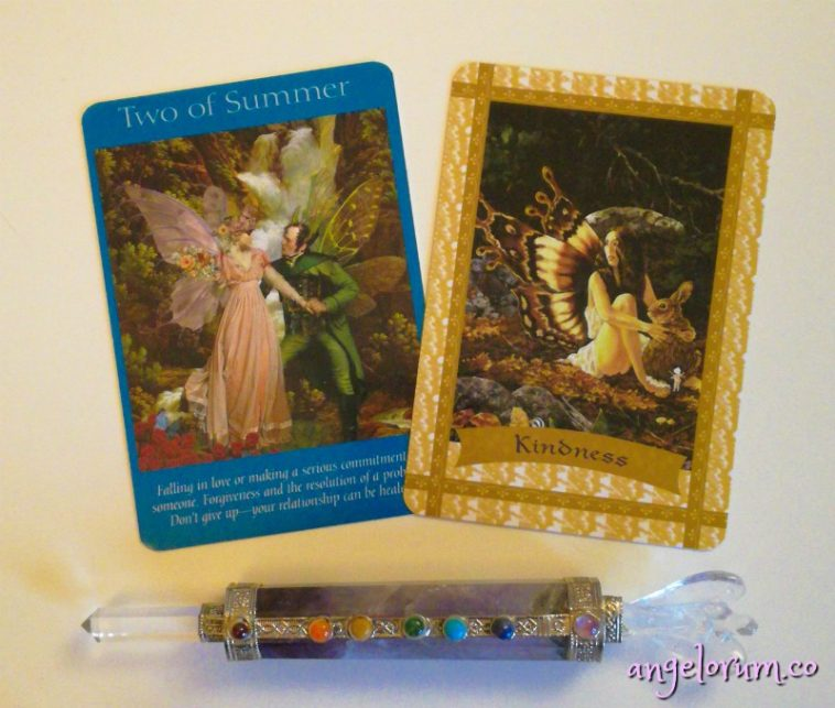 fairy tarot cards and healing with the fairies oracle