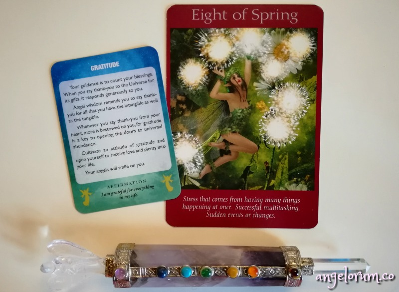 angels of light oracle by diana cooper and fairy tarot cards by doreen virtue