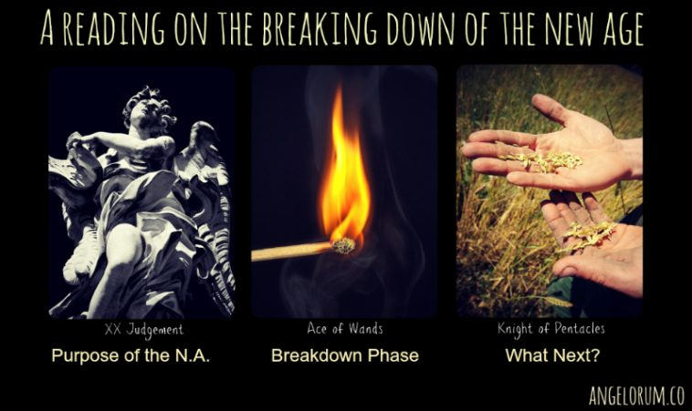 A Frideborg Tarot Reading on the Breaking Down of the New Age