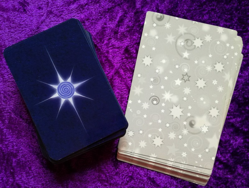 Star Tarot by Cathy McClelland card backs full deck and Majors only