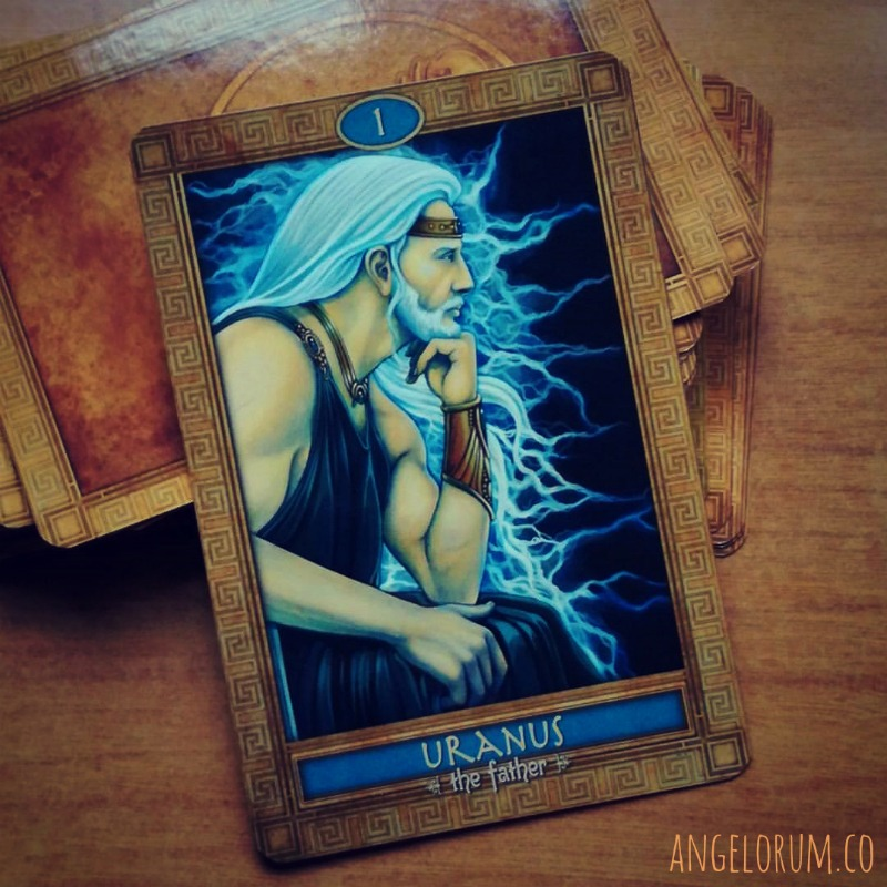 uranus mythic oracle
