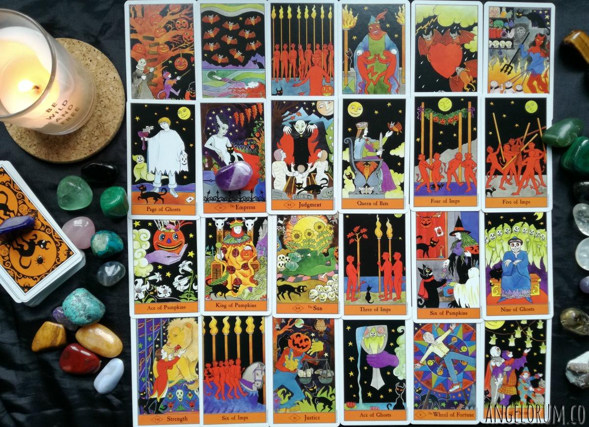 Halloween Tarot Power Crystal Reading for Halloween