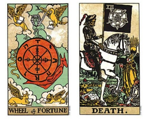 Wheel of Fortune Jupiter and Death Scorpio