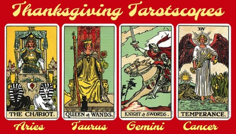 Thanksgiving Tarotscopes