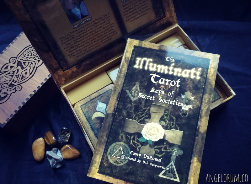 The Illuminati Tarot by Casey Duhamel