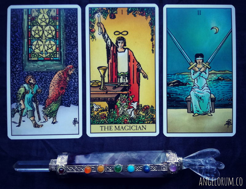 RWS Pamela Coleman Smith Tarot by Lo Scarabeo Pick a Card Reveal