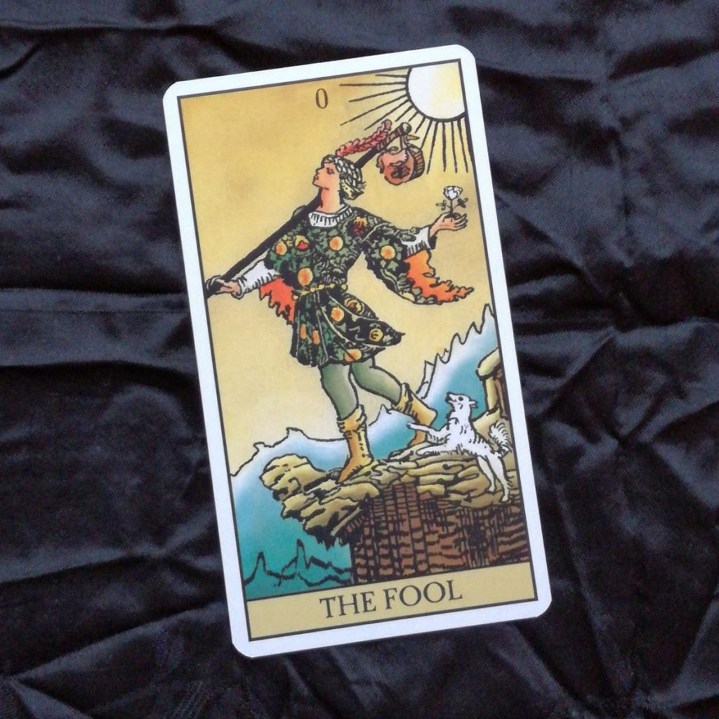 2017 Year Review Day 24 The Fool Tarot Card
