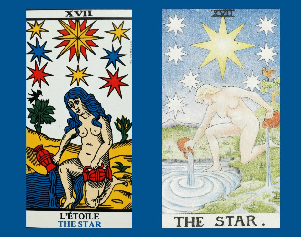 Return of the Divine Feminine in the Marseille and RWS Tarot