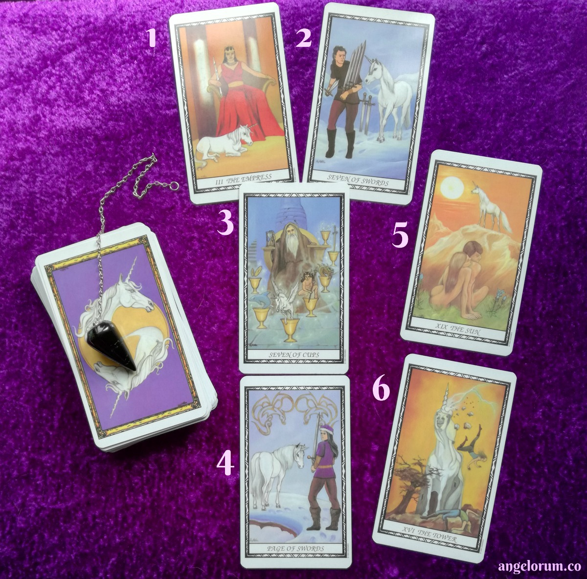 Unicorn Tarot Deck Interivew