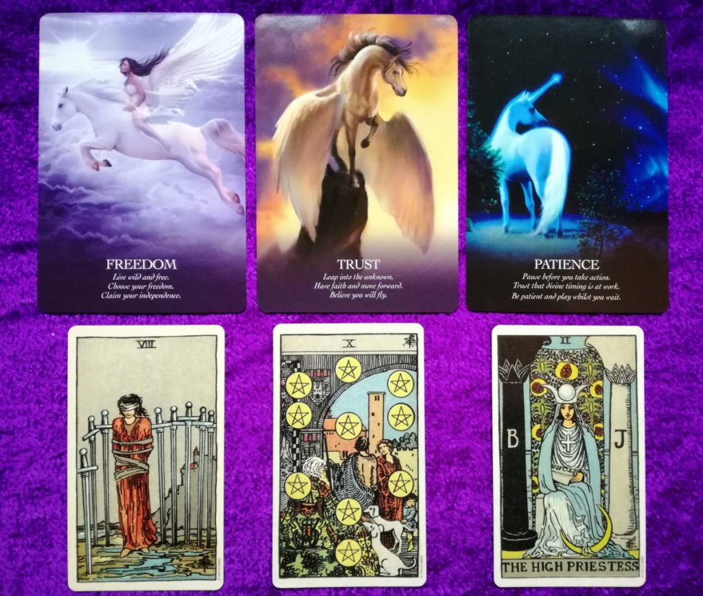 Unicorn Oracle and Tarot Week Ahead Forecasts REVEAL