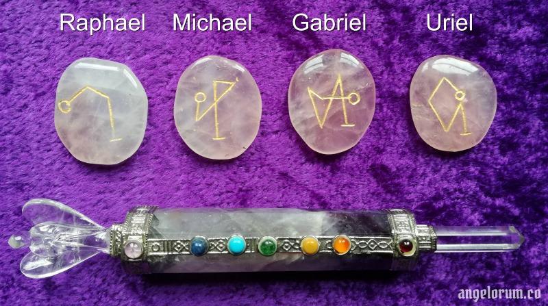 Archangelic Circle Casting with Sigils