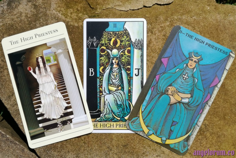 International Tarot Day - The High Priestess