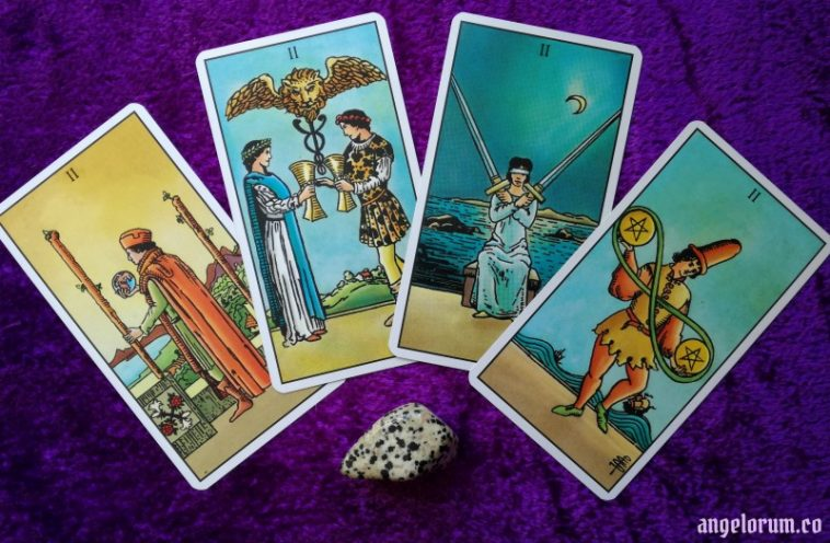 Practical Tarot Meanings the Two's