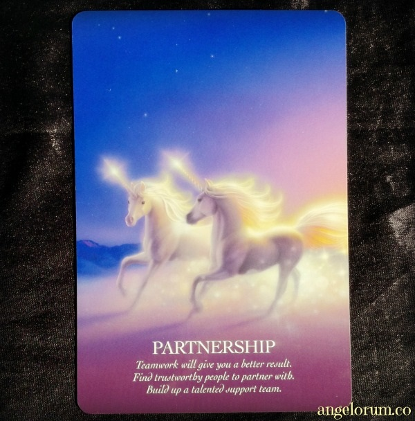 Partnership from the Oracle of the Unicorns