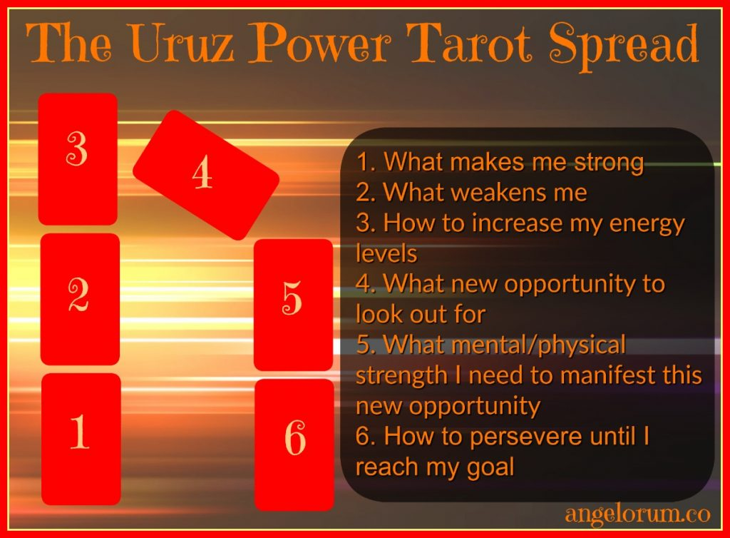Uruz Power Tarot Spread