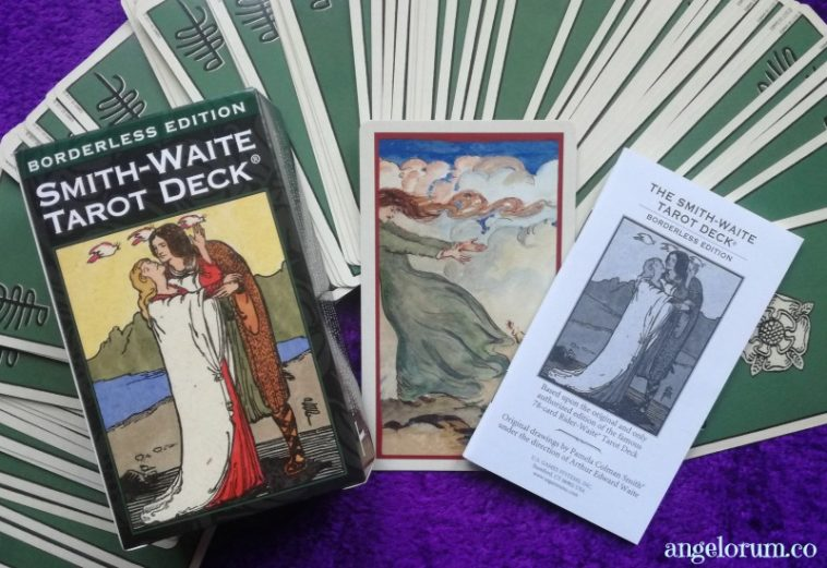 Smith-Waite borderless Tarot deck interview
