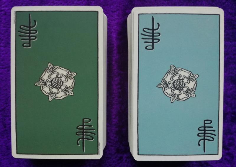 Smith-Waite borderless Tarot deck interview 3