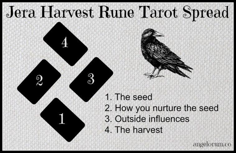 Jera Harvest Rune Tarot Spread