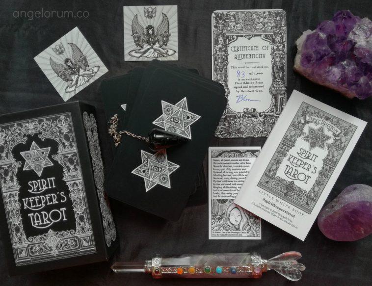 Spirit Keeper's Tarot Deck Interview