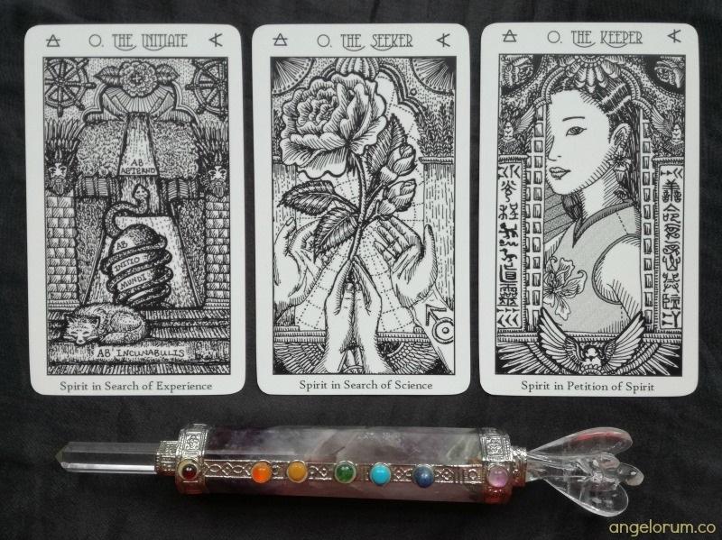 Spirit Keeper's Tarot 3 Fool Cards
